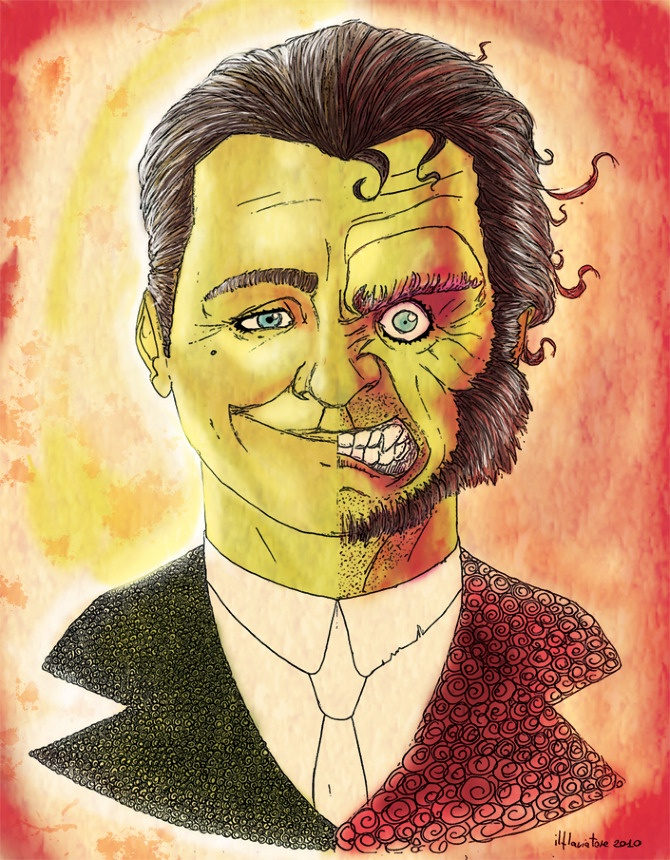It's just a photo of Smart Dr Jekyll And Mr Hyde Drawing