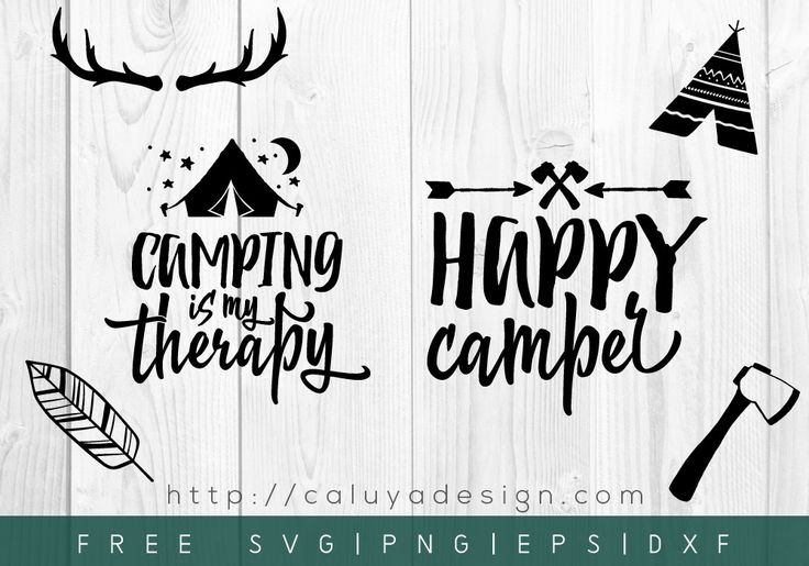 Free SVG & PNG Download Gallery by Happy campers, Camper