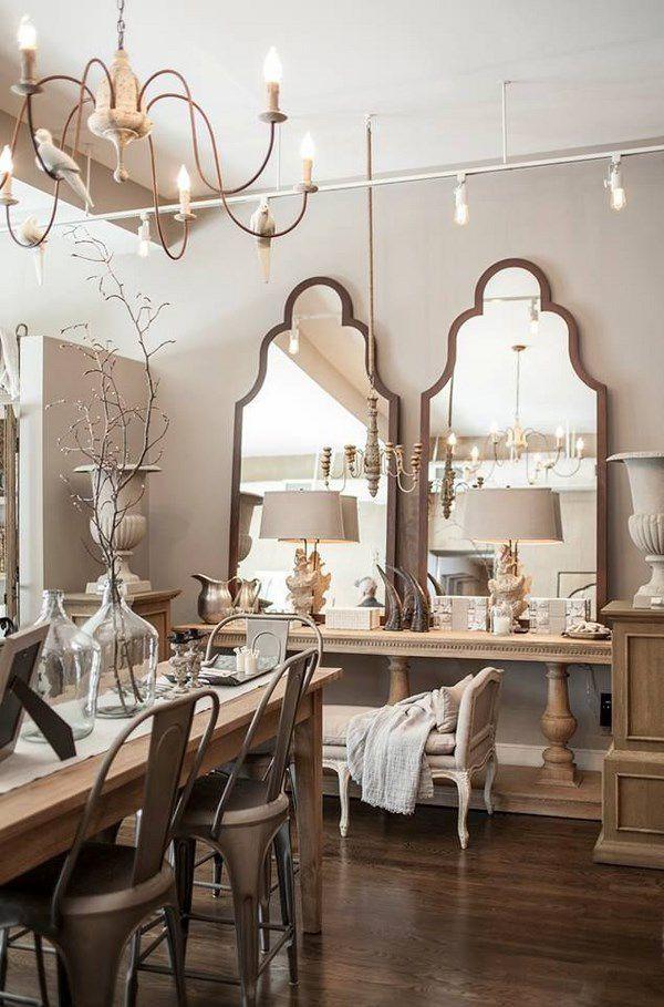 Oltre 20 migliori idee su specchi della sala da pranzo su - Specchi per casa ...