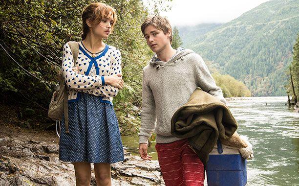 Bates Motel - Emma (Olivia Cooke) and Gunner (Keenan Tracey)