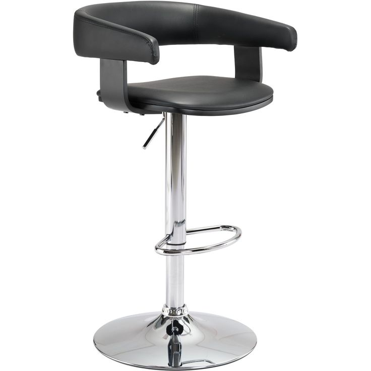 Fuel Bar Chair, Black