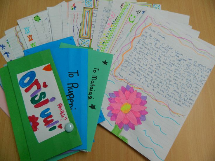 Letter writing exchange between children of Cowra and Fiji, organised by UNIC Canberra and UNWomen office Fiji.