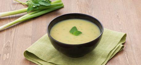 Soupe pommes de terre et poireau