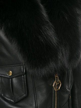 Philipp Plein faux leather jacket
