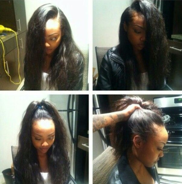 153 best weave hairstyles images on pinterest curls weaving and im also obsessed with doing hair and extensions their a great protective hair style so that your natural hair grows long and healthy pmusecretfo Images