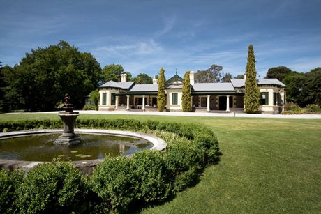 the twelve acres of land consist of a large lawn area and manicured gardens surrounding the homestead. http://www.ellibeer.com.au/