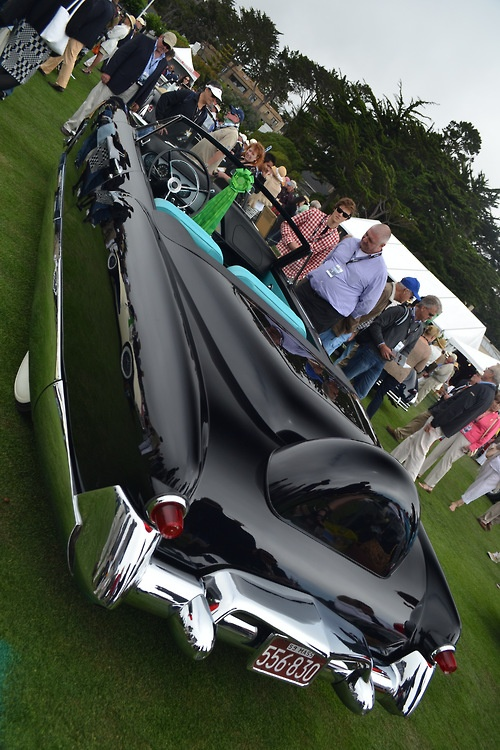 "1959 Arthur Bentas ""The Raven"" Convertible. Pebble Beach, 2012: The Raven, Pebble Beach, Hotrods"