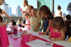 Kara's Party Ideas Mattel Barbie Pearl themed birthday party via Kara's Party Ideas | Cake, decor, cupcakes, games and more! KarasPartyIdeas.com #barbieparty #barbie #barbiedoll #girlypartyideas #partdecor (17) | Kara's Party Ideas