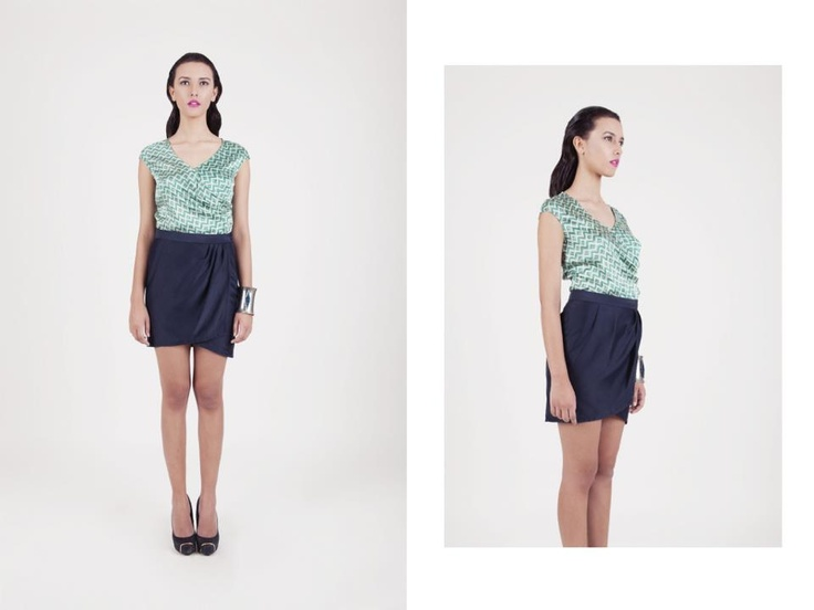 Jade Top from Global Nomad Collection by Namayinda