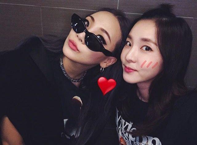 CL, Dara and 2NE1