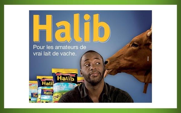 campagne lait en poudre Halib agence McCann Erickson D.A. junior Ismaila Diallo, via Behance
