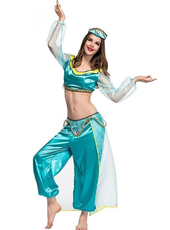 Aladdin/'s role playing animated CostumChildren Princess Jasminee Party