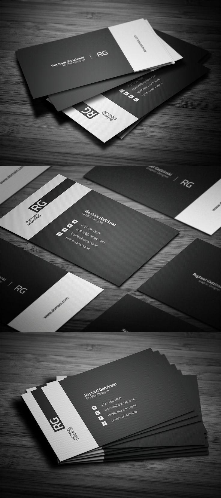 50 Creative Corporate Business Card Design examples - Design inspiration