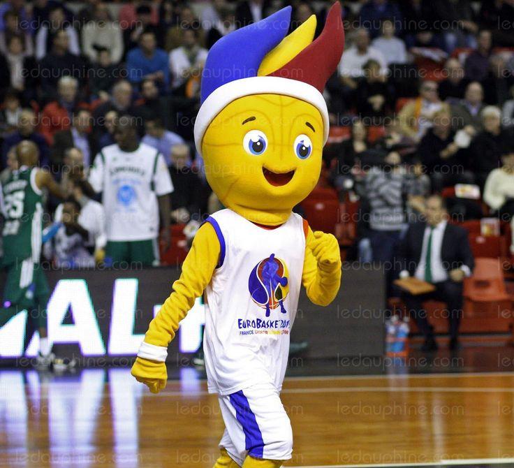 La mascotte officielle de l'Euro-2015 de basket-ball (4 au 20 septembre), dont la phase finale et une partie du premier tour auront lieu en France, a ...