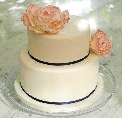 Gâteau de fiancialle 2 étages