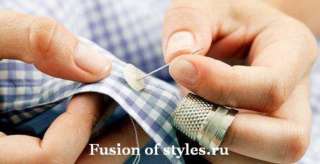 Терминология швейных ручных работ