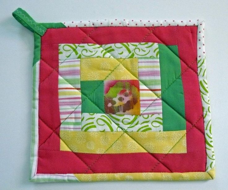 17 Best images about quilted pot holders on Pinterest Potholders, Mug rug patterns and Patterns