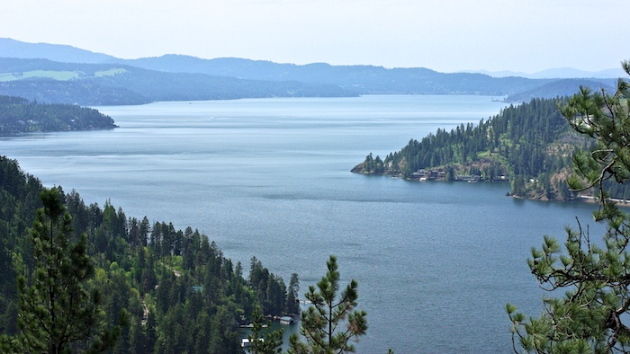 Lake Coeur d'Alene Photo from Mineral Ridge