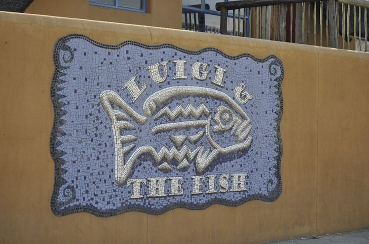 Great Namibian Restaurant Tradition…. 'Luigi & The Fish' by the Edies