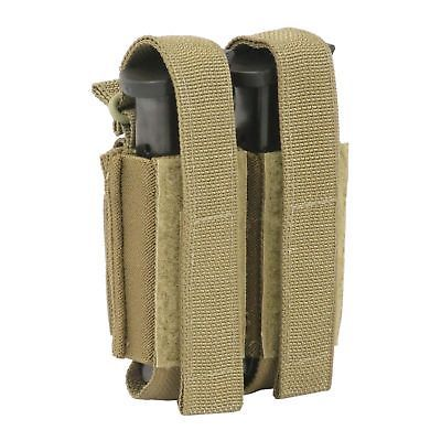 Tactical Assault Gear TAG Double Multi-Caliber Pistol Pouch Coyote Tan 830843