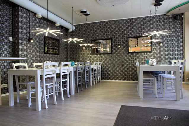 #Ravintola Kesti, Heinola. #restaurant #led #lightning #interiordesign #renovation