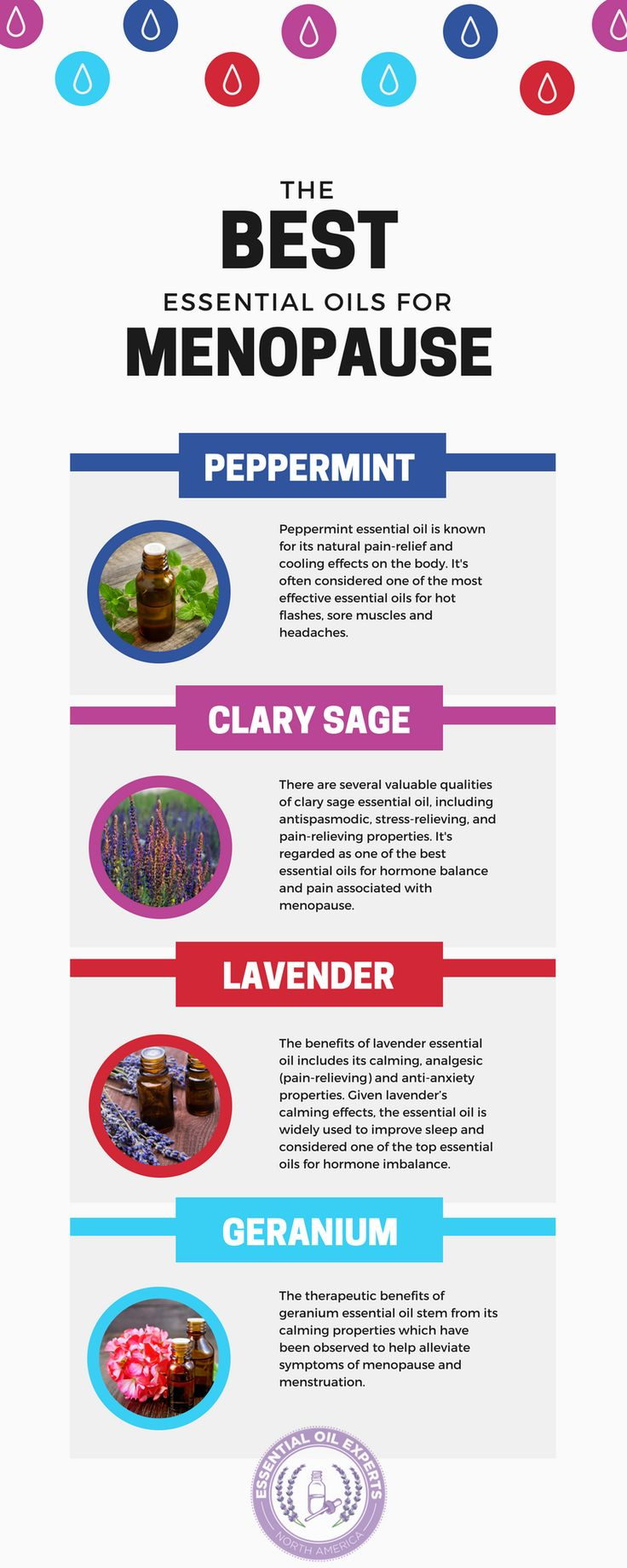 Best Essential Oils for Menopause, Hot Flashes and Perimenopause