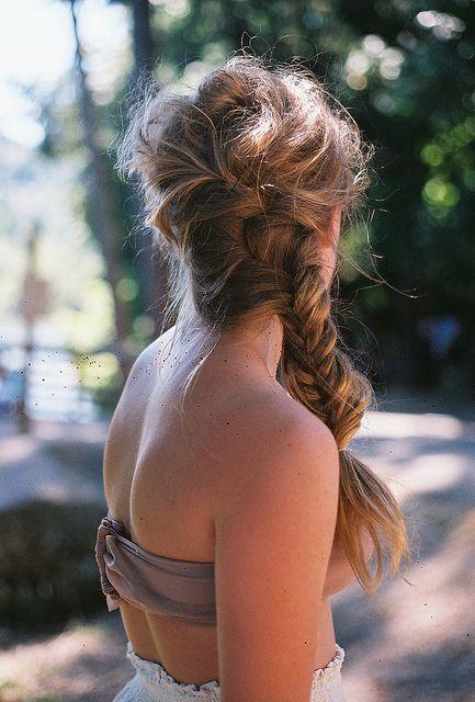 messy braid inspiration