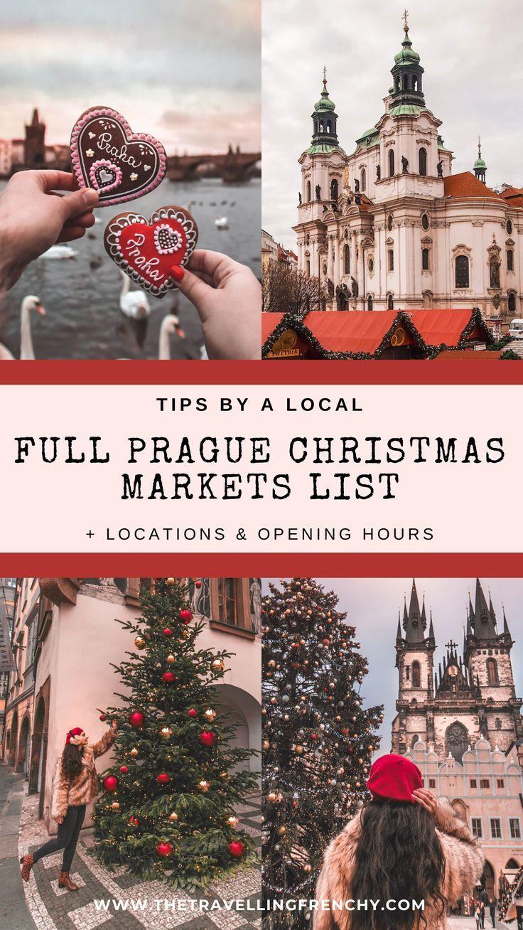 Full List Of Prague S Christmas Markets For 2020 Prague Christmas Market Prague Christmas Christmas Market