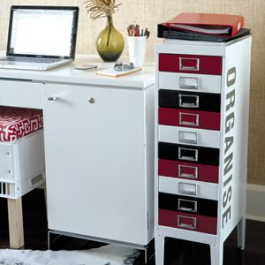 how to make a filing cabinet look nice