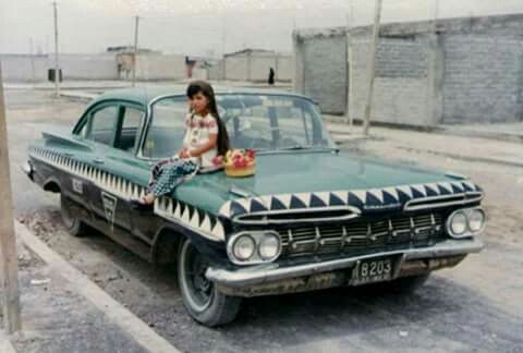 El,taxi cocodrilo comenzó a rodar en 1950 por Las calles de LA ciudad de Mexico hasta finales de La decada de los 70s