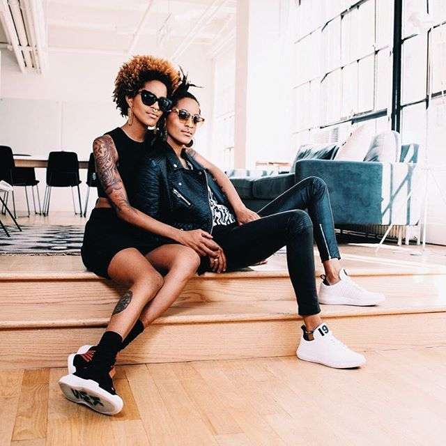 A boss is a boss is a boss is a boss but what does that mean exactly? Tap the link in our bio to find out (and you know say hey to our favs @cocoandbreezy rockin' that @kswiss new new). #ad  via NYLON MAGAZINE OFFICIAL INSTAGRAM - Celebrity  Fashion  Haute Couture  Advertising  Culture  Beauty  Editorial Photography  Magazine Covers  Supermodels  Runway Models