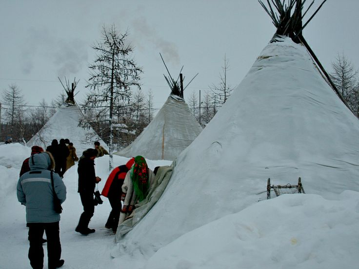 Chum - Traditional Dwelling of the Northern People in Russia