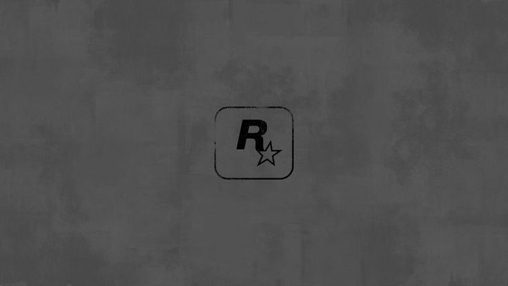 The Rockstar logo without the red looks like a badly painted wall and show nothing that I can see
