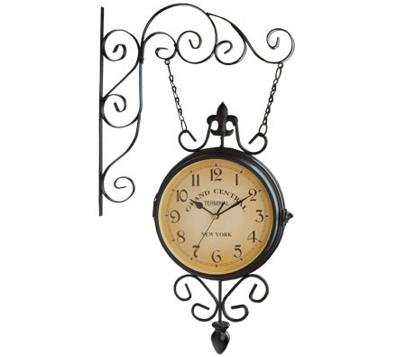 Grand Central Station Style Double Sided Replica Train Clock Want This For My Bedroom Pinterest And