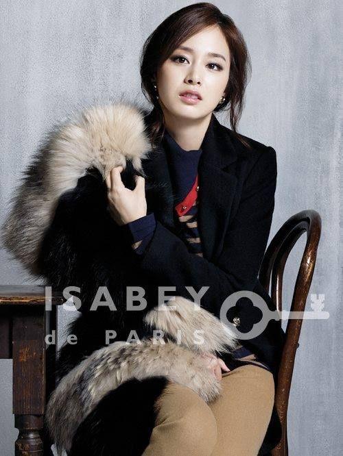 Kim Tae Hee - Collection ISABEY de PARIS F/W 2011.