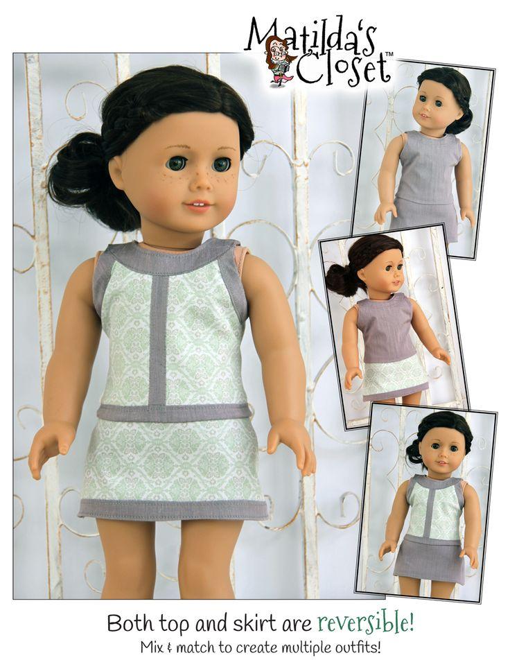 Best 279 Patterns by Matilda\'s Closet images on Pinterest | Puppen ...