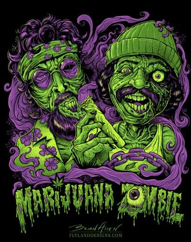 Marijuana Zombie--Clear your mind with Maritox ®, sometimes you can't be stoned. Get high and still function!