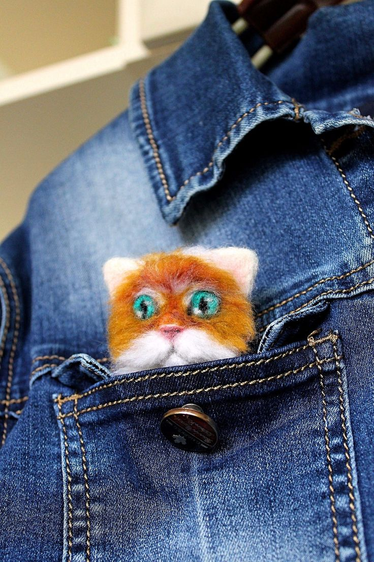 Excited to share the latest addition to my #etsy shop: clothing gift for her cat Brooch Womens girlfriend Gifts gifts kids felting wool EXCLUSIVE live brooch eco gift small cat lover gift brooch http://etsy.me/2B9TxOi #jewelry #brooch #white #wool #no #girls #red #anim