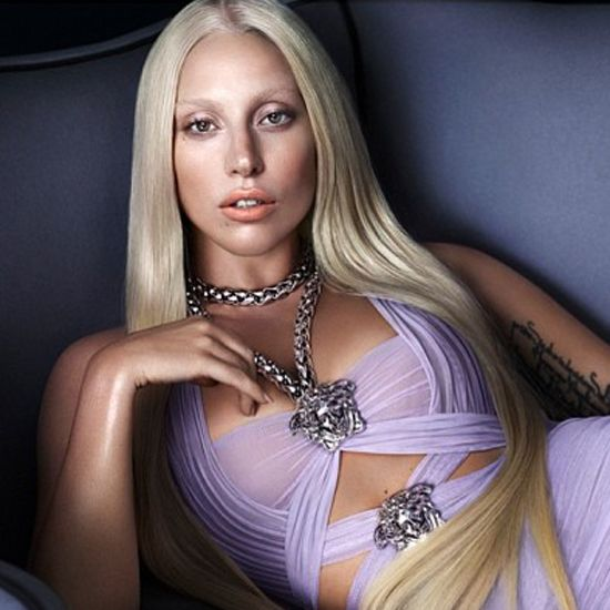 Does Lady Gaga & Versace Ad Remind You of Anyone?
