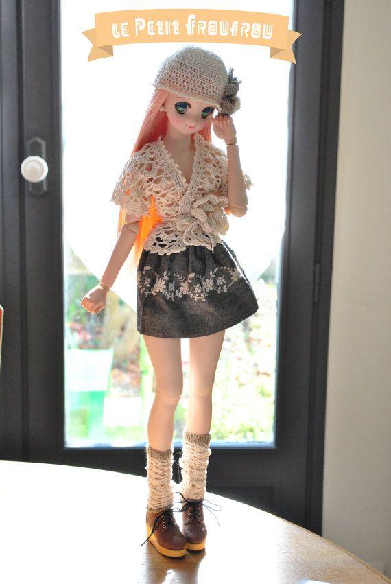 SD / DD / outfit / MORI / romantique / crochet par LePetitFroufrou