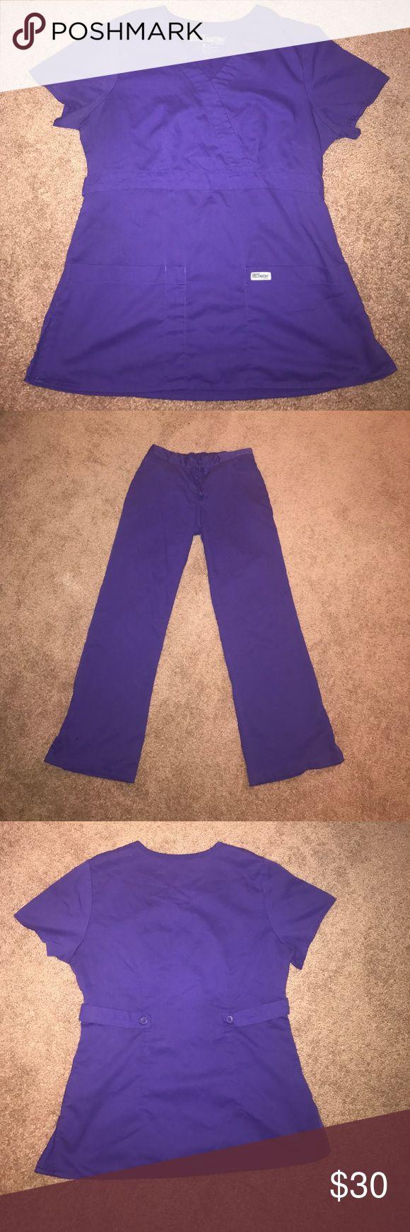 Grey's Anatomy by Barack scrub set Purple Scrub set!! No stains or rips!! Grey's Anatomy Other