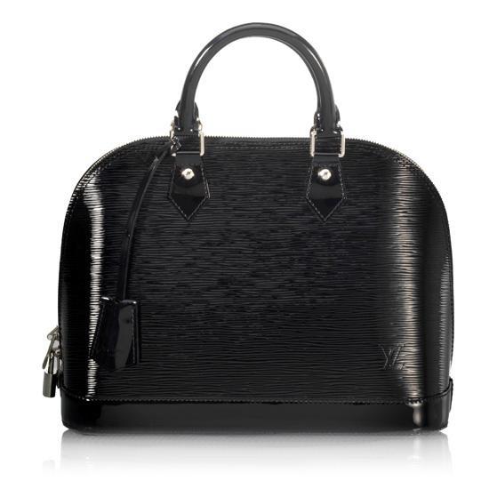 LV Epi leather in Noir
