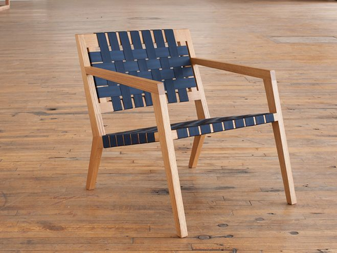 Phloem Studio – Furniture by Benjamin Klebba (love this simple chair). See more on OEN blog - http://the189.com/furniture/phloem-studio-furniture-by-benjamin-klebba #chair #seat #handmade #woodwork #wood #craft #design #modern #modernism