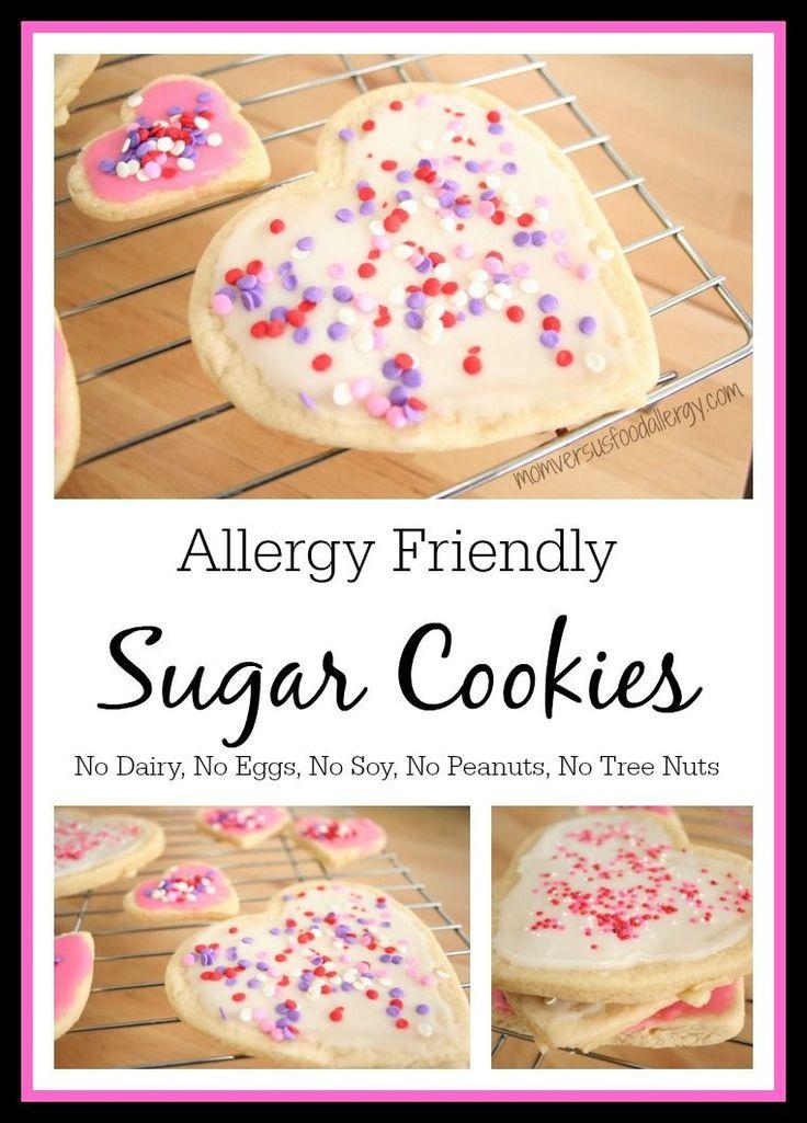 Allergy-Friendly Sugar Cookies~No dairy, eggs, soy, peanuts, tree nuts~Mom Vs. Food Allergy