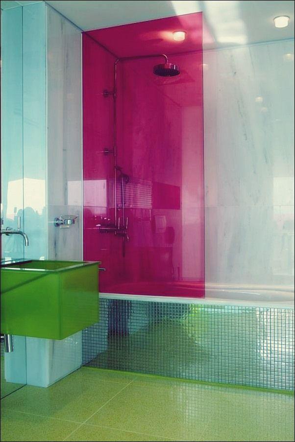5 Bunte Ideen Fur Duschkabinen Glas Badezimmer Duschkabine Und