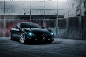 Maserati, granturismo, чёрный, мазерати, black, гран туризмо
