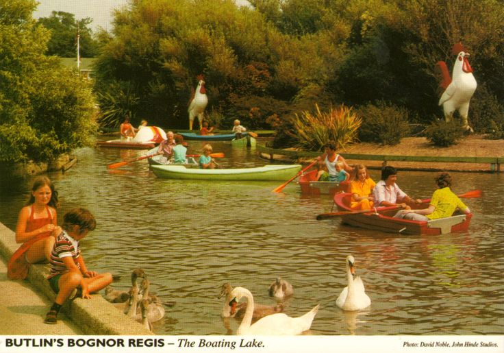 Butlin's Bognor Regis - The Boating Lake