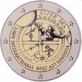 Erikoiseurot Vatikaani 2 €