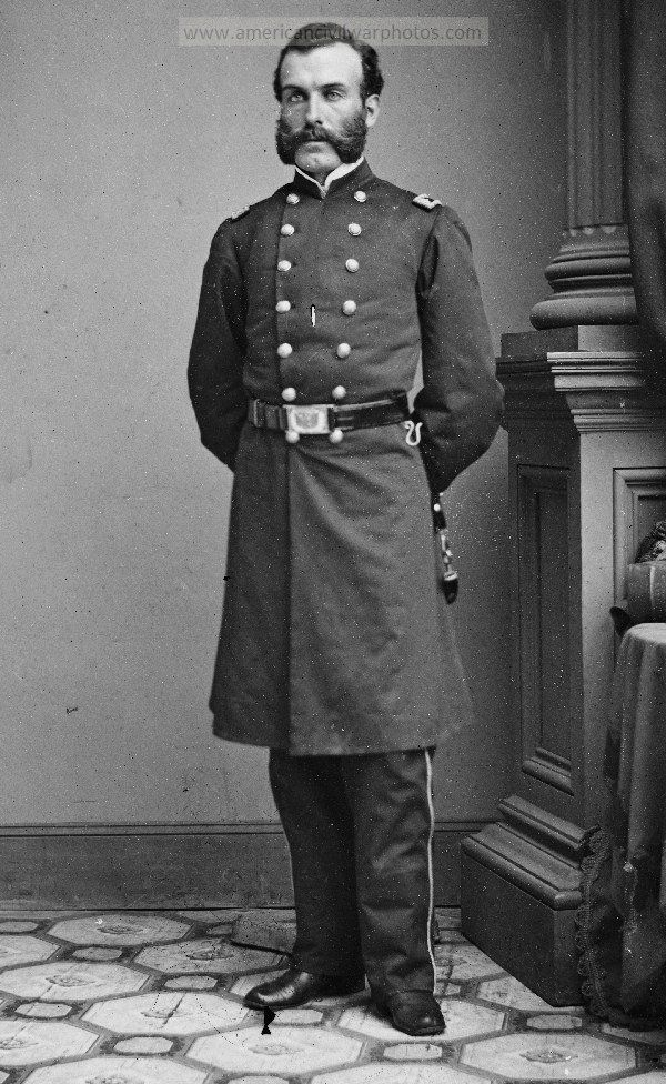 Surg. W.B. Crandall, 16th New York Infantry. Date Created/Published: between 1860 and 1870. LOC original medium: 1 negative : glass, wet collodion.