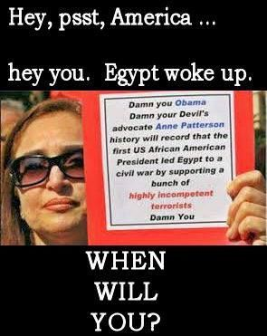"""If the Egyptians can seek to rid their country of the poison of the Muslim Brotherhood without any real history of democracy, then we Americans, who know what democracy is and have practiced it prior to the ascension of the great usurper Obama, can and must succeed."" ~ Larry Klayman"